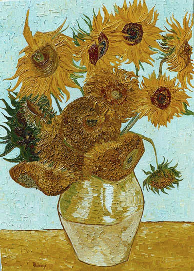 Particolari Vincent Van Gogh riproduzione falsi d\'autore copie di ...
