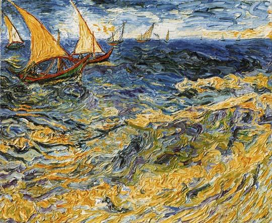Vincent van gogh art blog false copyright copies of for Quadri di parigi
